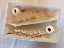 Rollito de Camarones con Mayonesa picante, Tapería Restaurante Maridaje